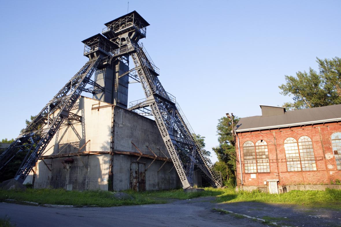 Důl Petr Bezruč v Ostravě