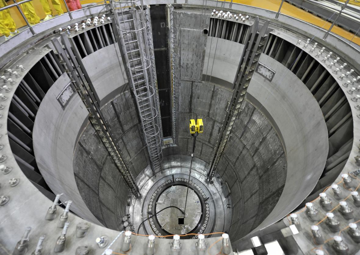 Tlaková nádoba reaktoru