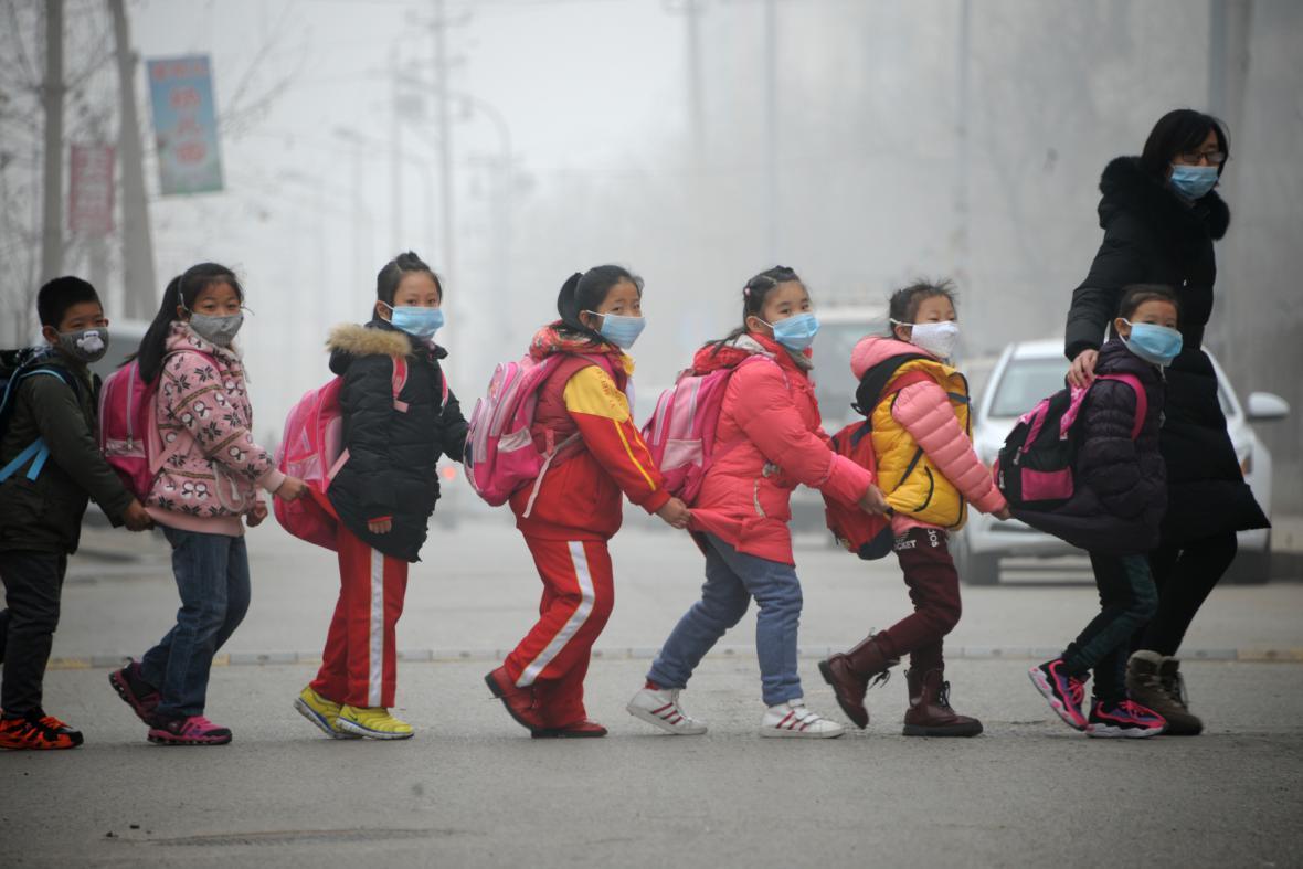 Čínská města v zajetí smogu