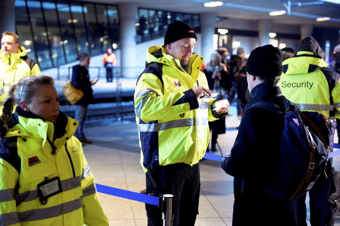 Kontroly totožnosti v Dánsku