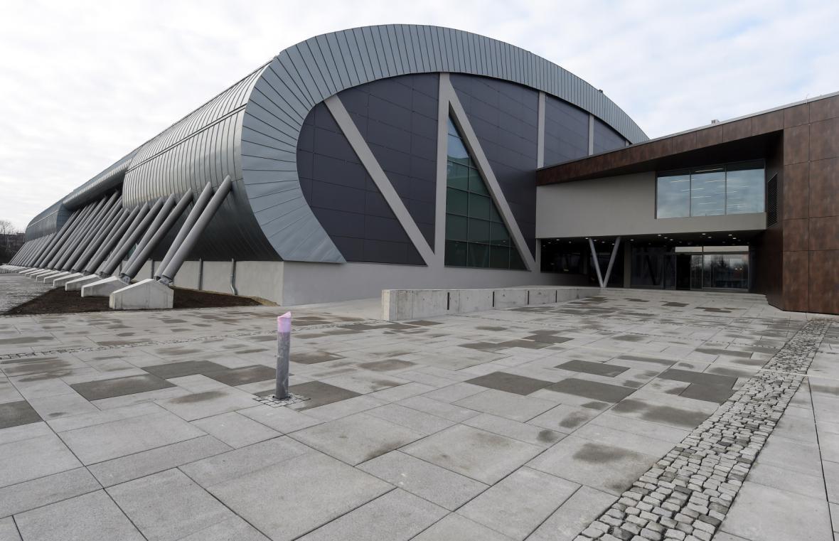 Nová atletická hala v Ostravě