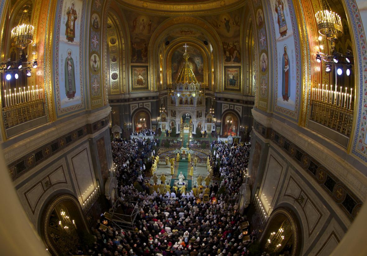 Pravoslavní oslavují narození Ježíše Krista
