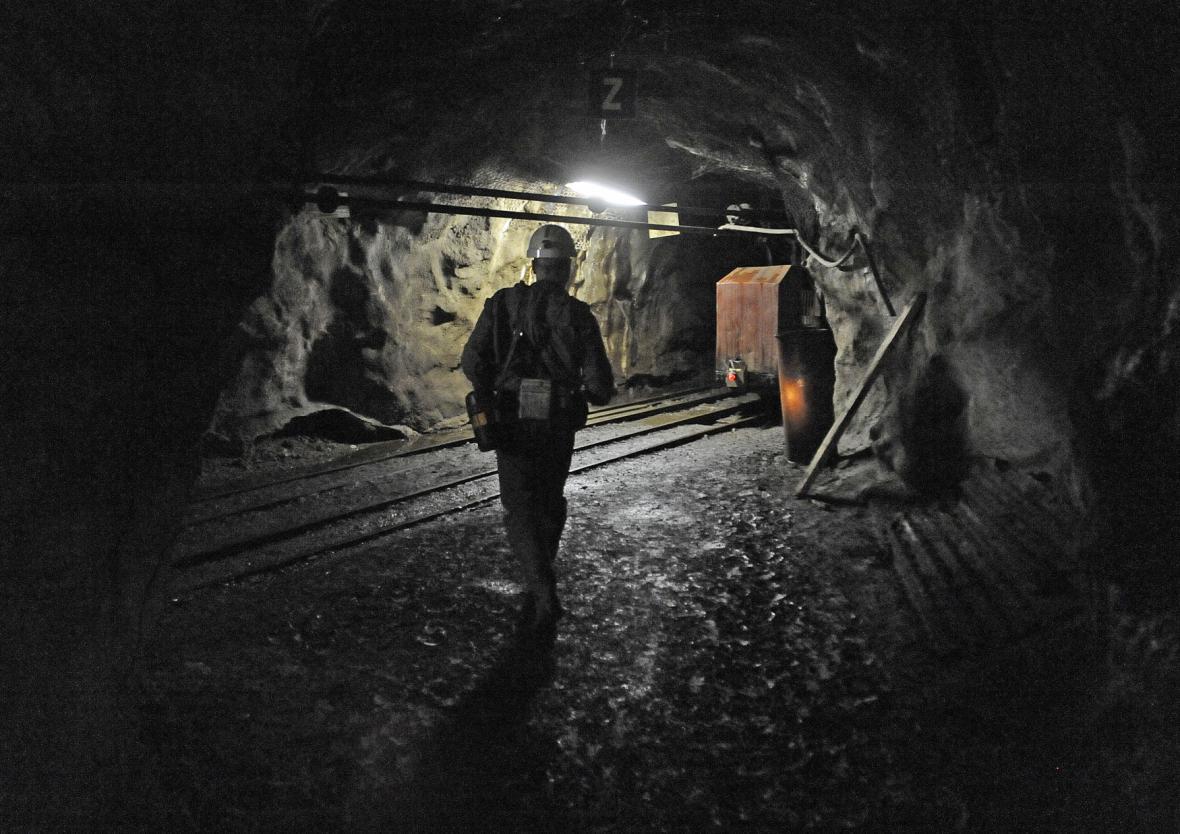 Uranový důl Rožná na snímku z roku 2011
