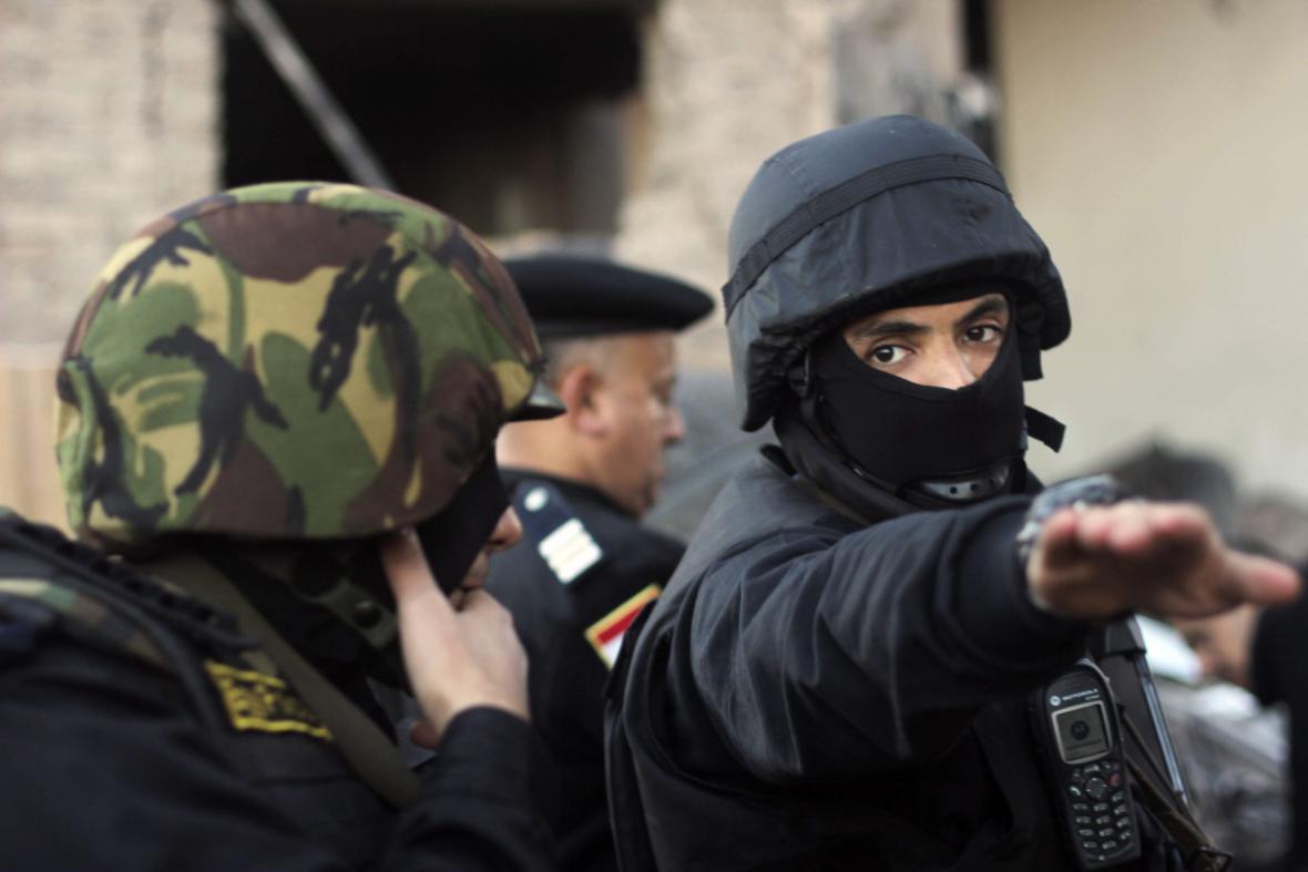 Egyptské ozbrojené složky