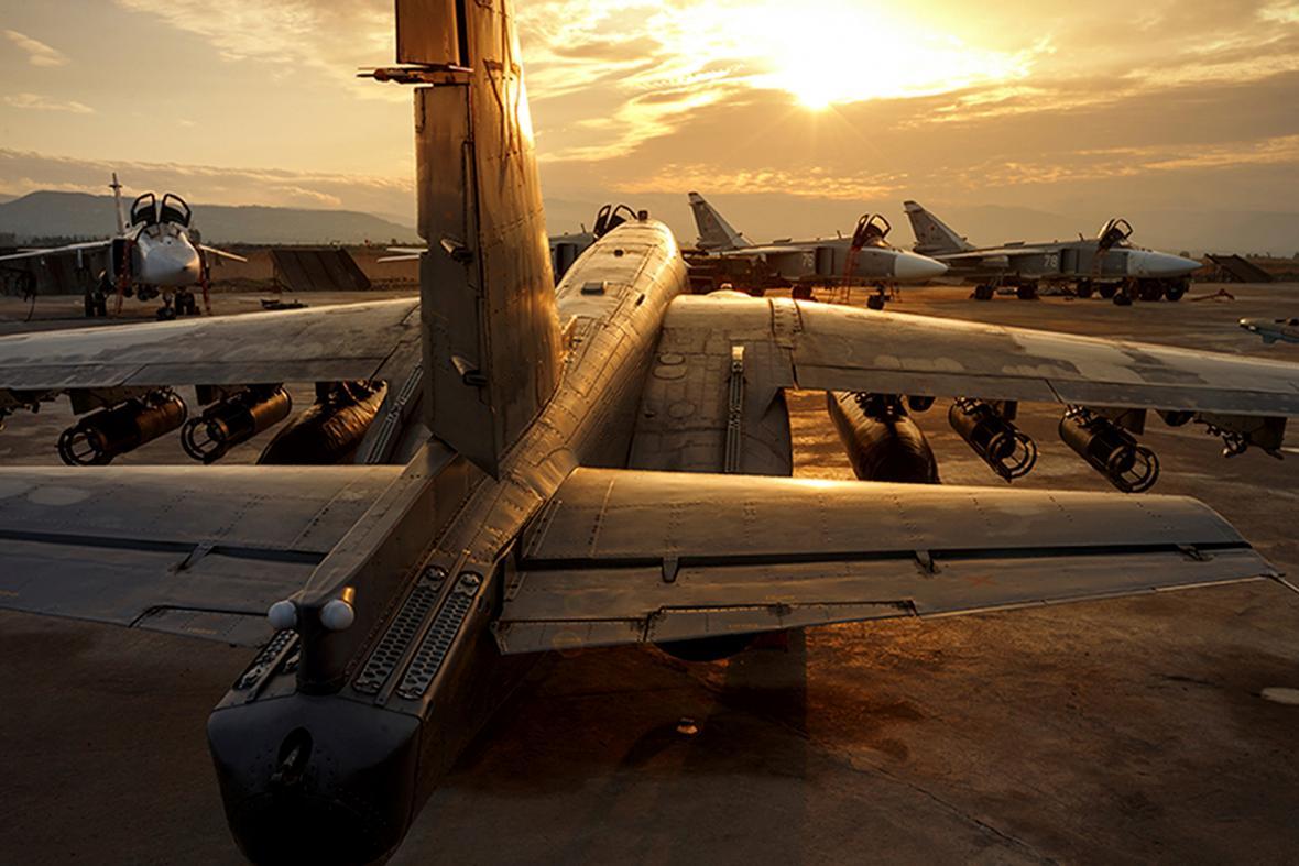 Ruské letectvo v Sýrii (ilustrační foto)