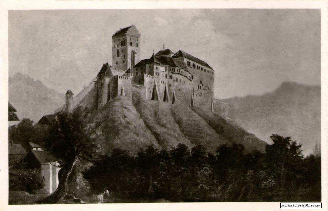 Karlštejn v historických obrazech