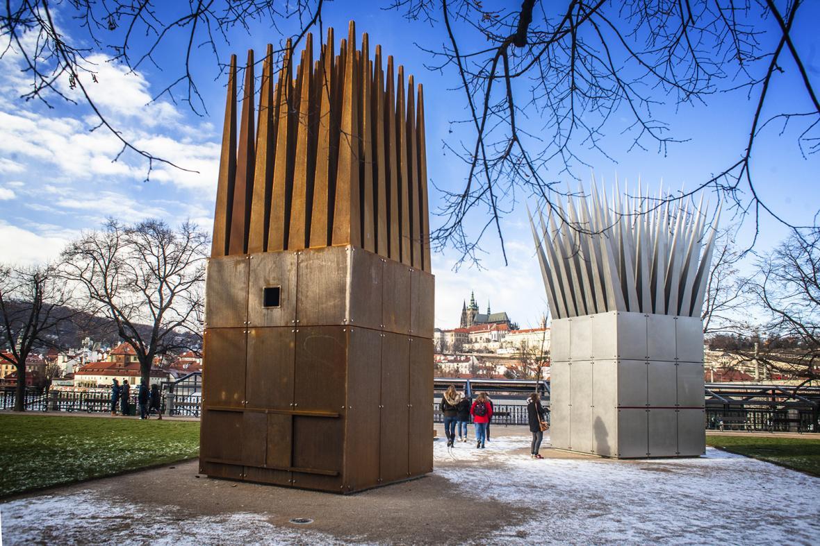 Pomníky Jana Palacha v Praze