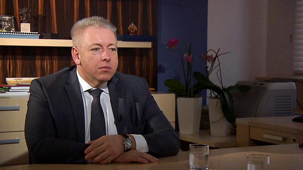 Milan Chovanec v pořadu Týden v politice