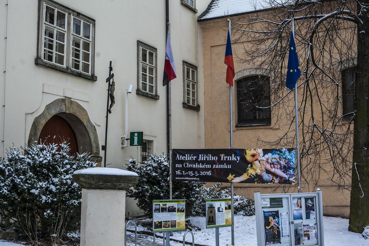 Výstava Jiřího Trnky v Počernicích
