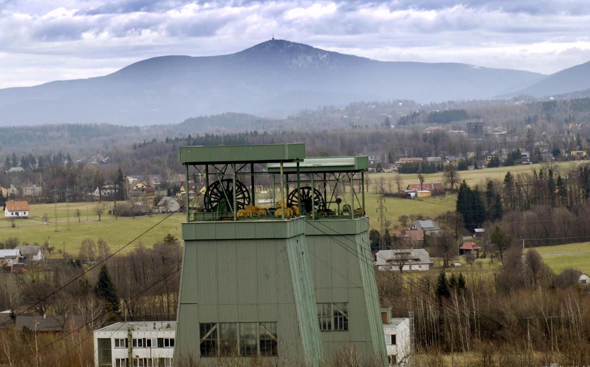 Důl Frenštát leží na hranici CHKO Beskydy