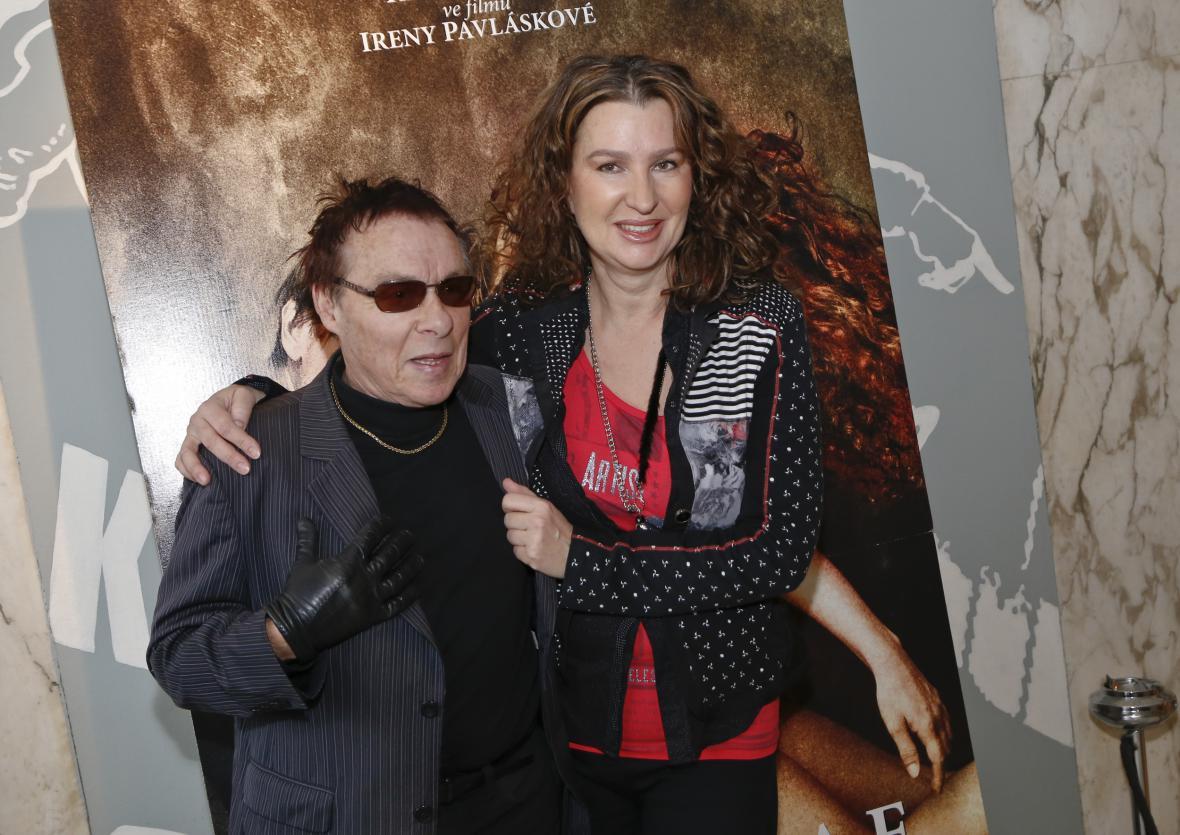 Irena Pavlásková s Janem Saudkem