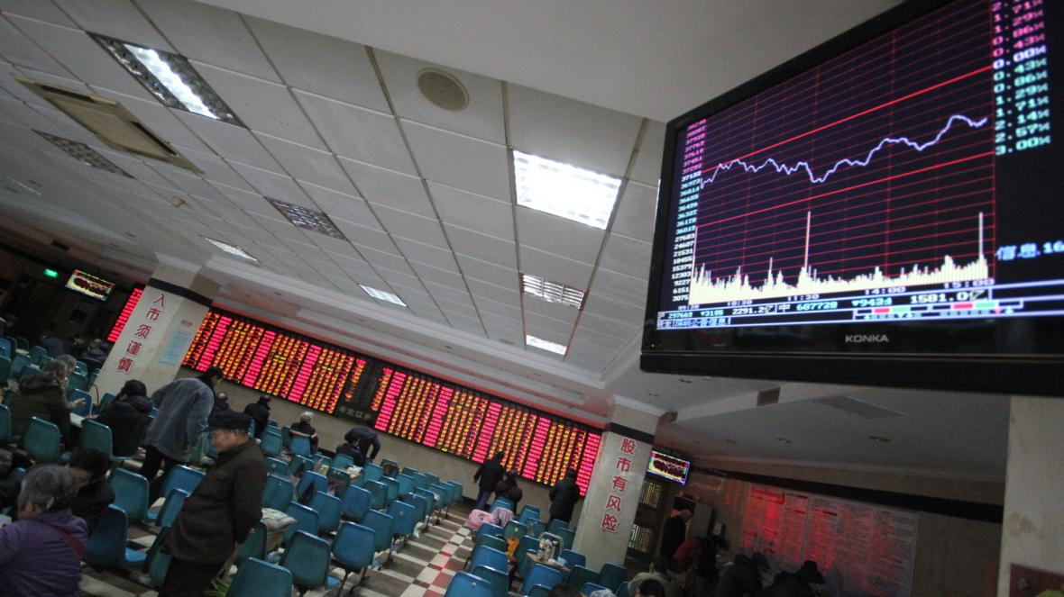 Vývoj čínských akcií