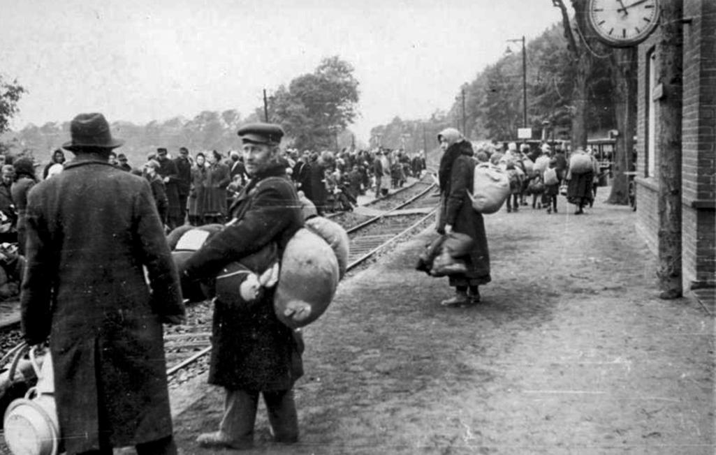 Před 70 lety odjel první organizovaný transport vysídlených Němců
