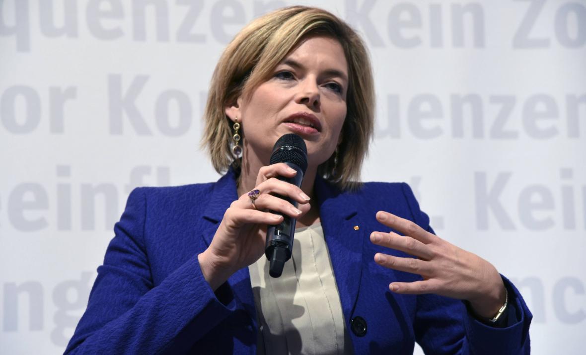 Členka vedení CDU Julia Klöcknerová