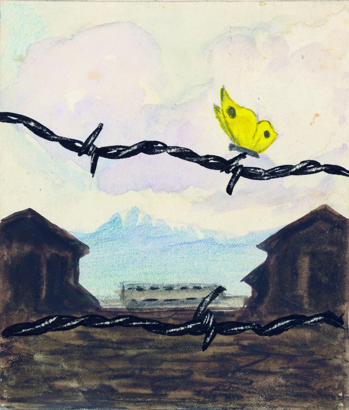 Umění holokaustu v díle židovských vězňů
