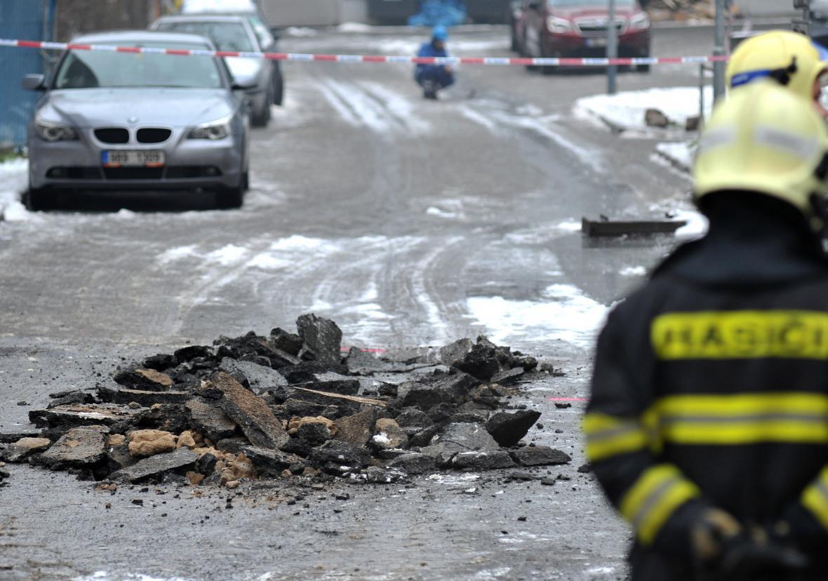 Ranní exploze nikoho nezranila