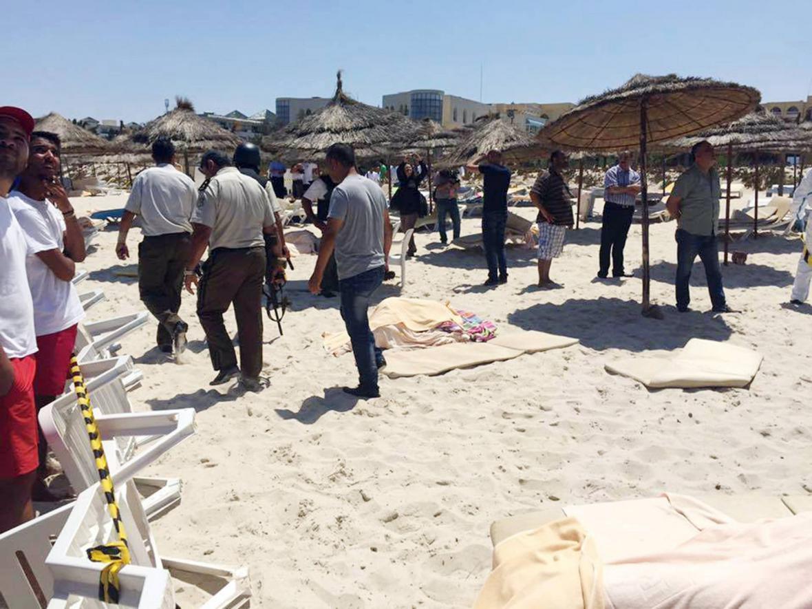 Teroristický útok na hotel v tuniském Sousse