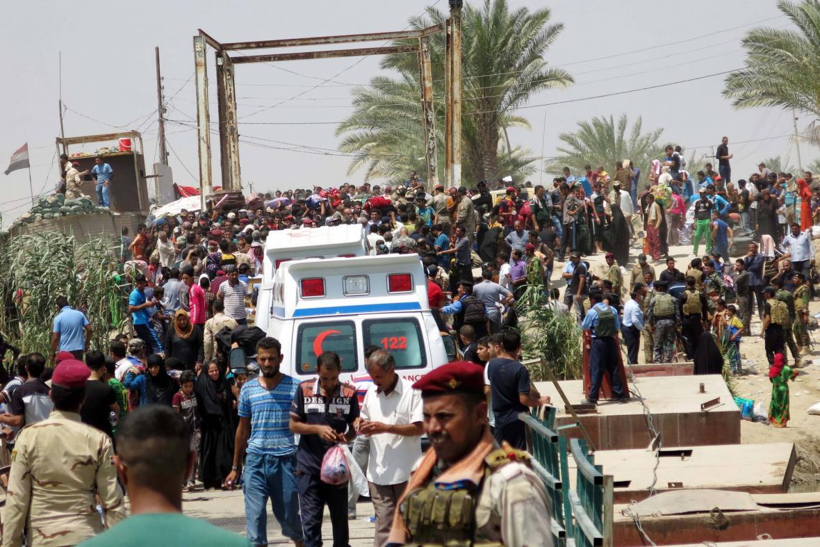 Most smutku v Iráku