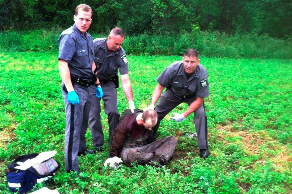 Policie zatýká Davida Sweata