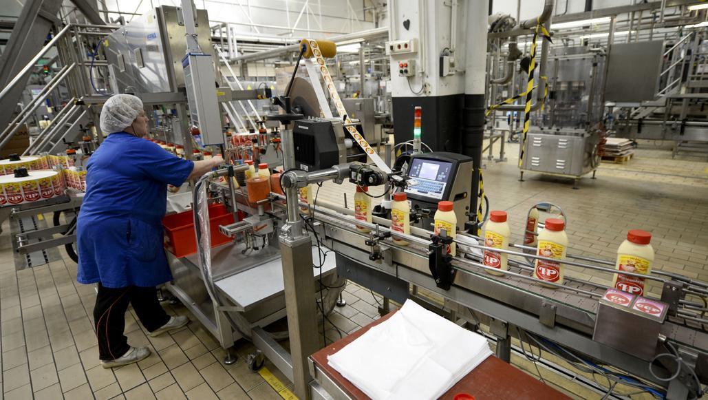 Výroba belgické majonézy