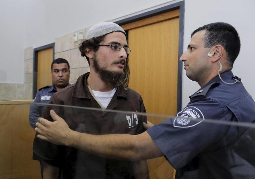 Meir Ettinger - údajný spoluviník žhářských útoků