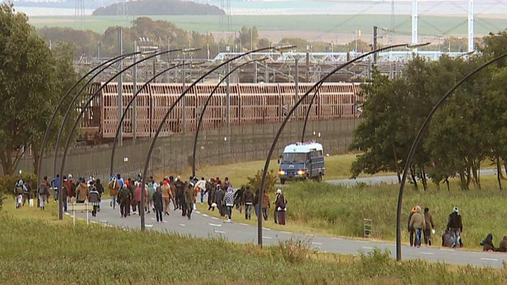 Eurotunel v Calais