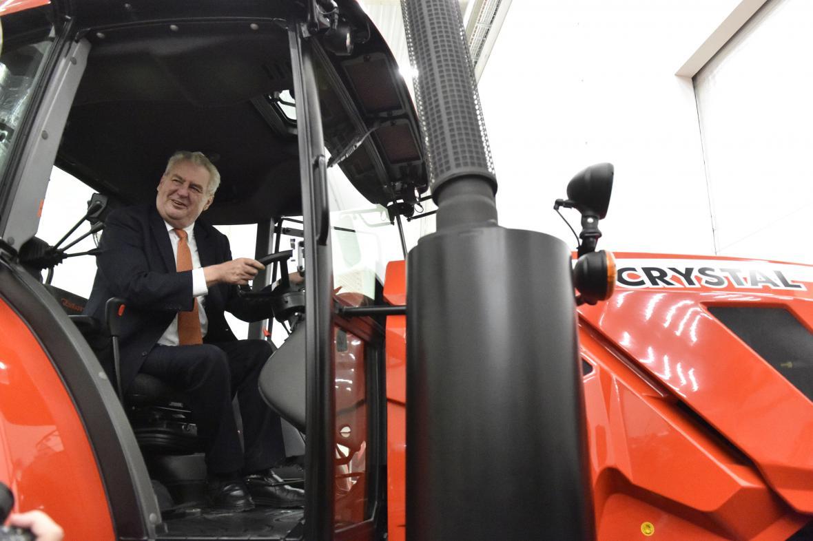 Prezident pokračuje ve své návštěvě Jihomoravského kraje