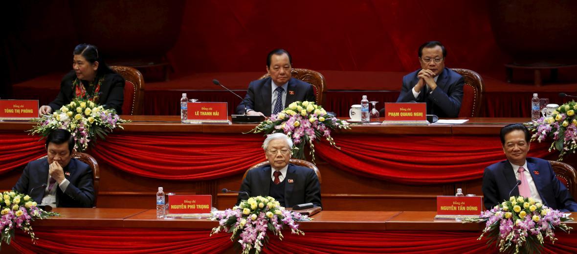 Vedení vietnamské komunistické strahy
