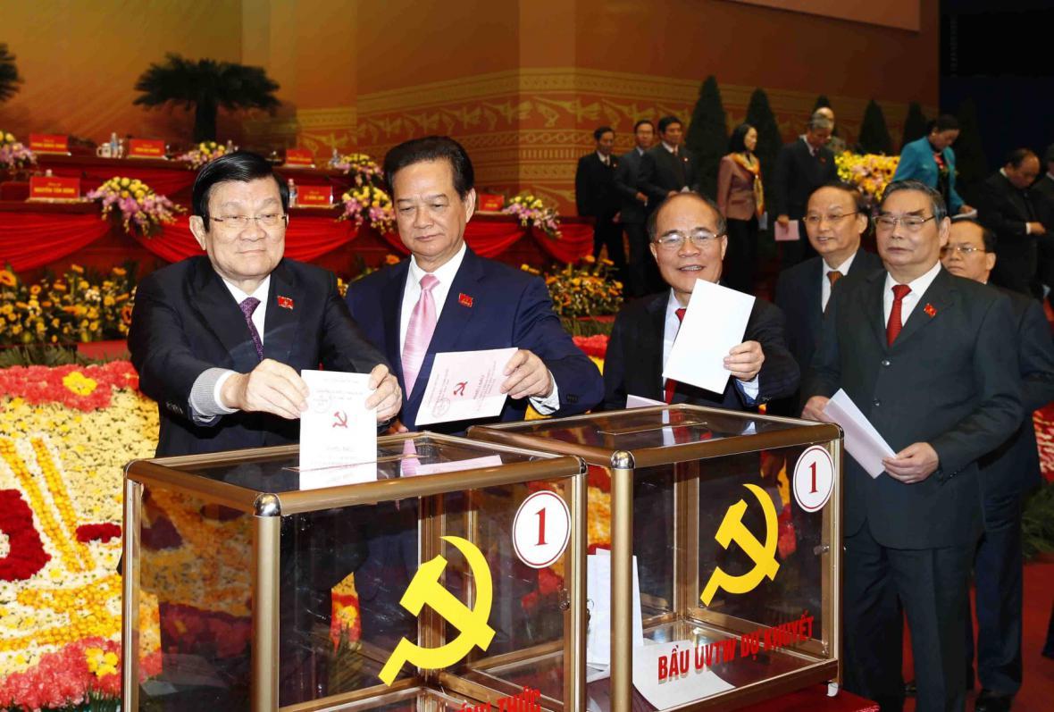 Sjezd komunistů ve Vietnamu