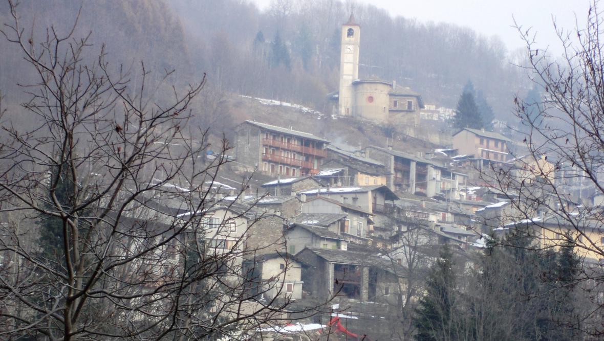 Ostana v severní Itálii