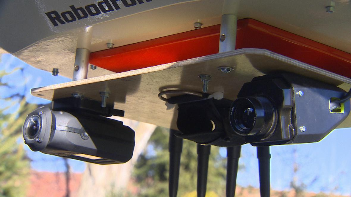 Drony na kontrole komínů na Chomutovsku