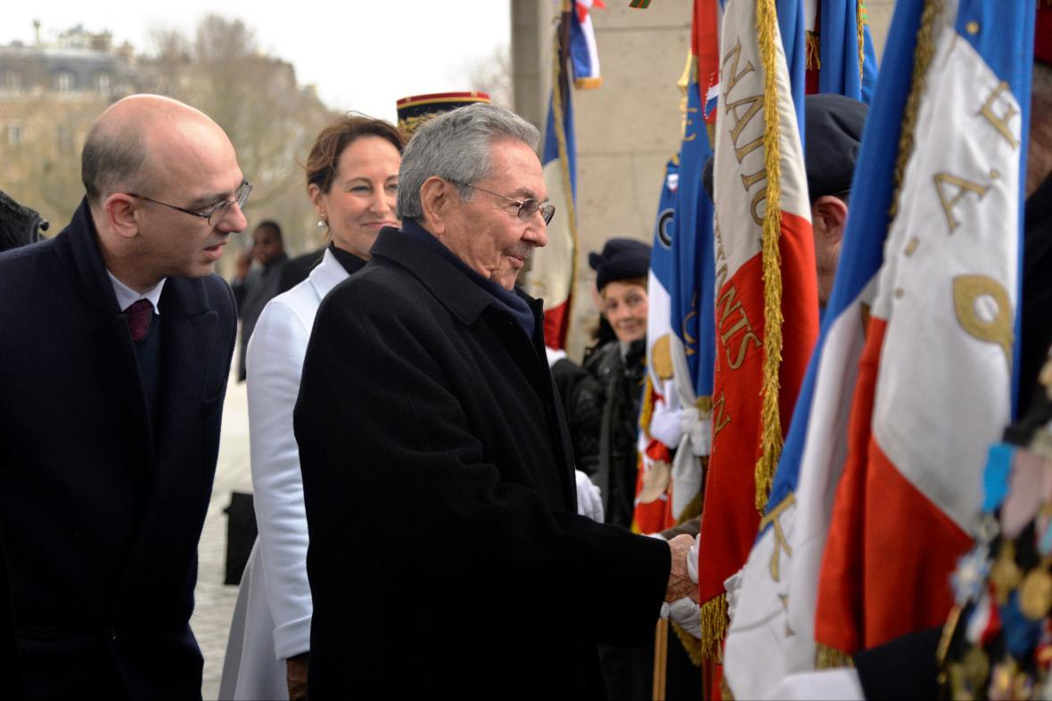 Raúl Castro ve Francii