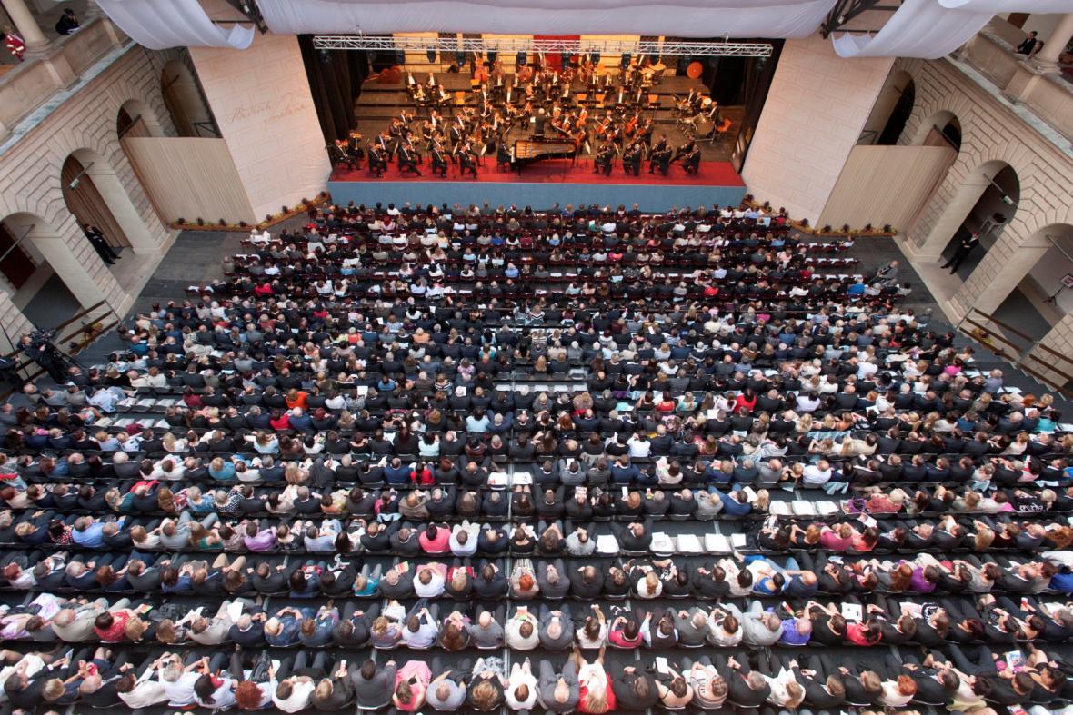 České filharmonie (ilustrační foto)