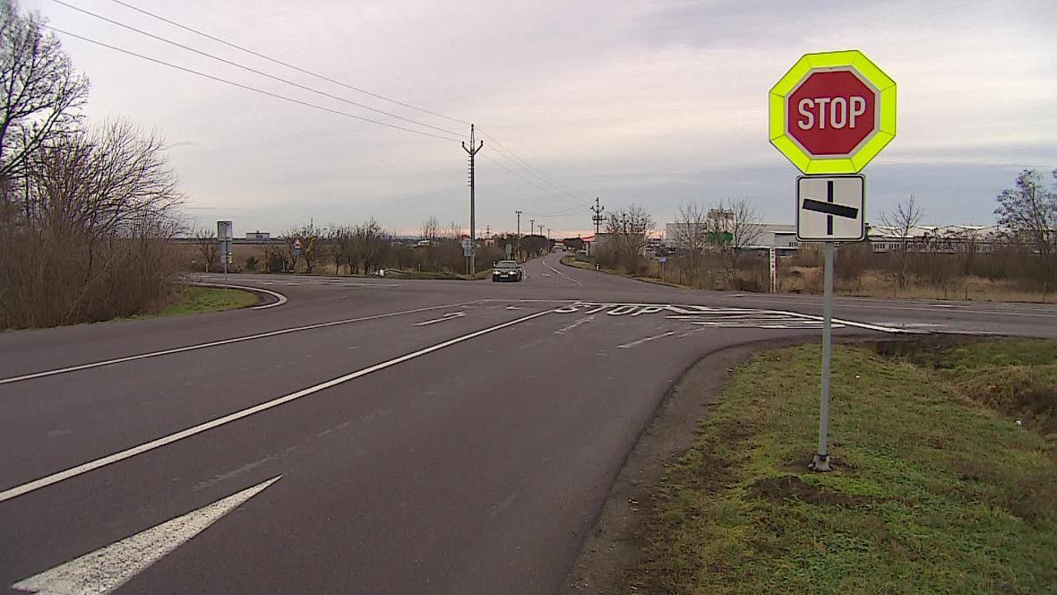 Na dyjské křižovatce se za deset let stalo 108 nehod