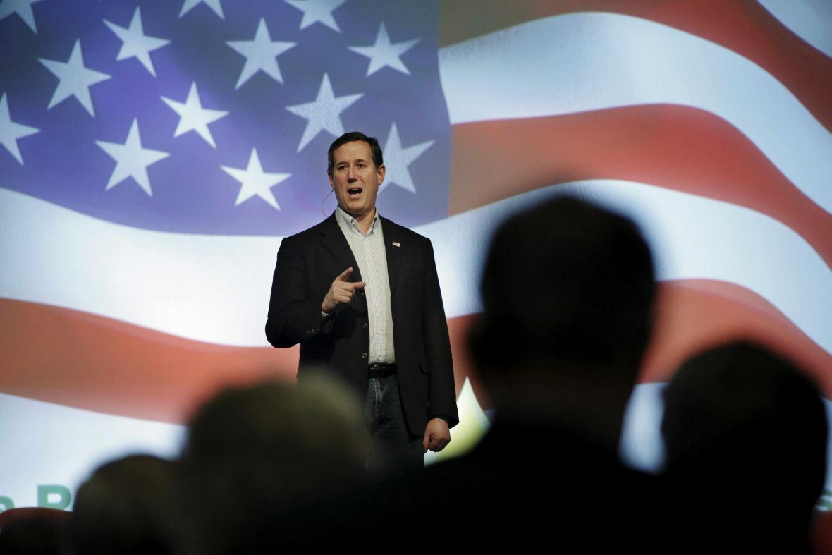 Rick Santorum v boji o Bílý dům skončil