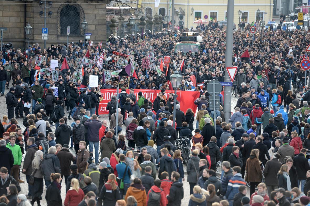 Demonstrace ve světě
