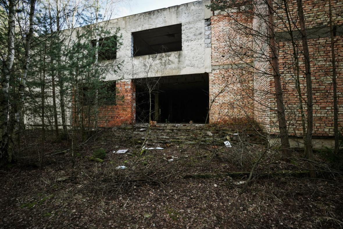 Bývalý kulturní dům v Ralsku