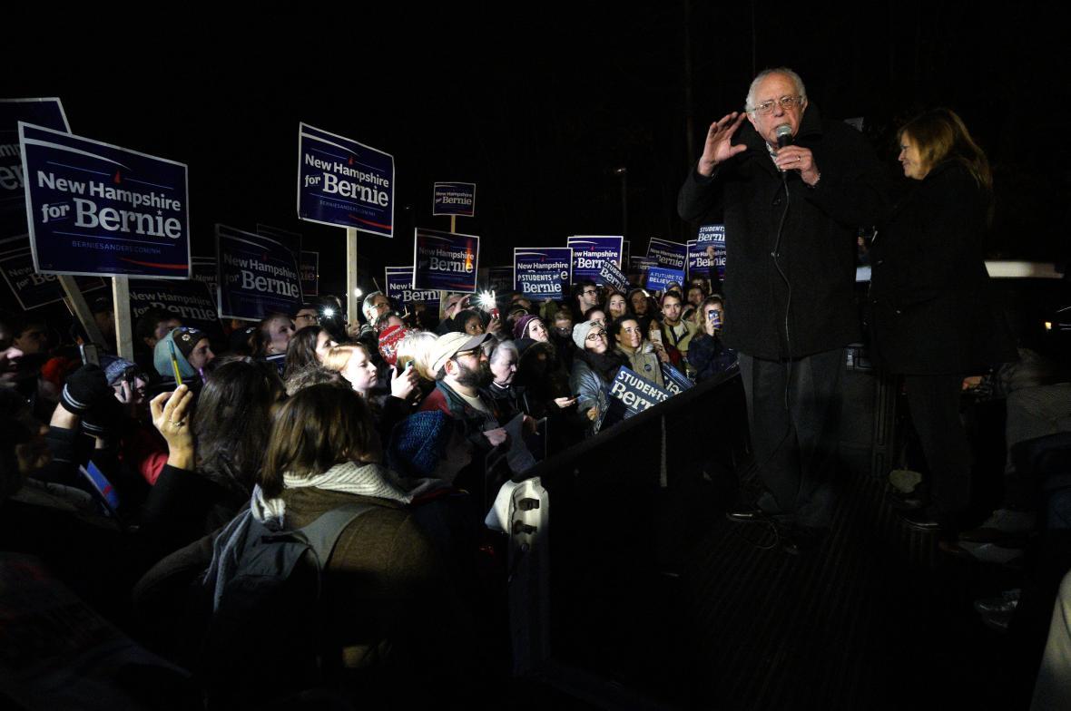 kandidáti bojují o hlasy v New Hampshire