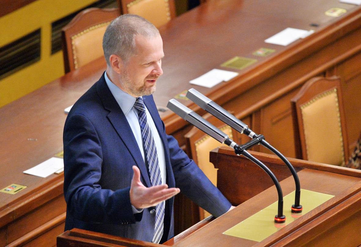 Šéf ODS Petr Fiala.