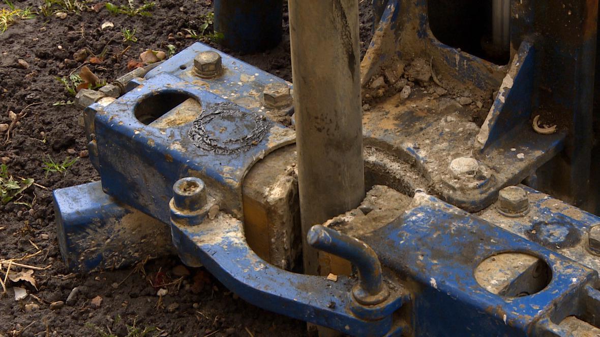 Čištění spodní vody v Novém Bydžově