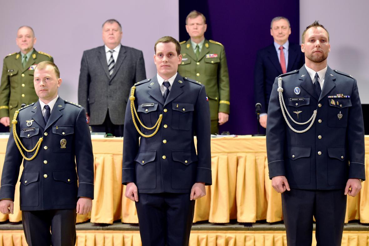 Petr Michek, Petr Ungermann a Jaroslav Hálko