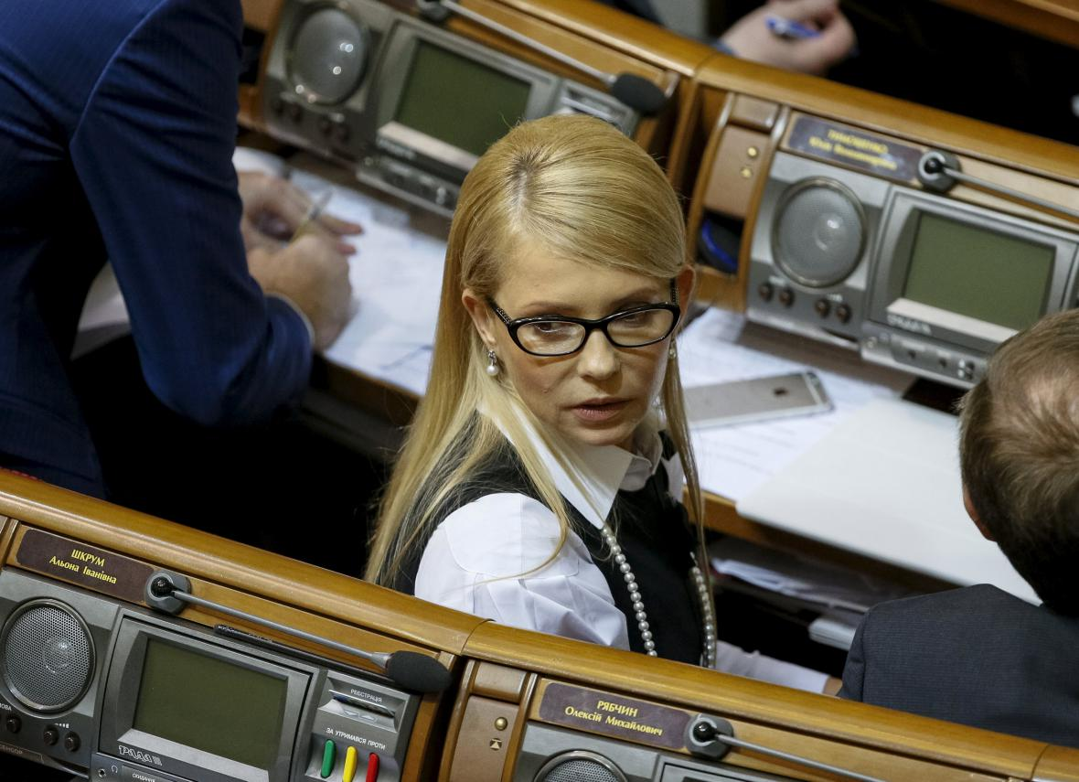 Julia Tymošenková opustila vládní koalici