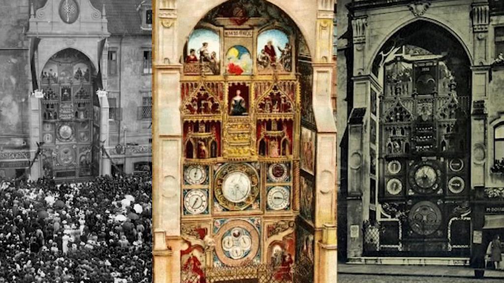 Olomoucký orloj v průběhu staletí