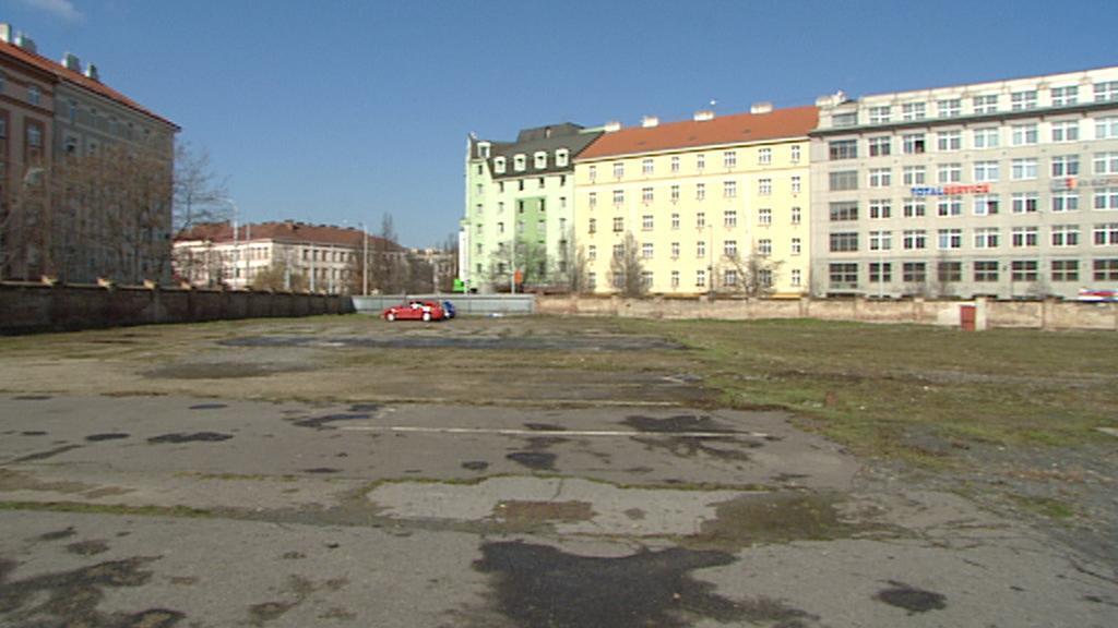 Pozemek pro stavbu sídla NKÚ