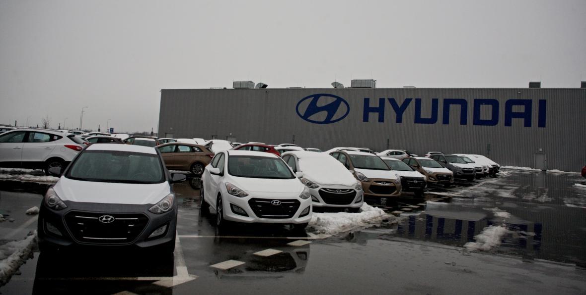 Automobilka Hyundai v Nošovicích