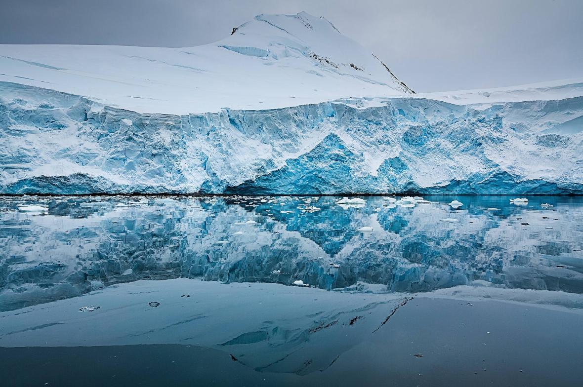 Teplota vzduchu nejvíce vzrostla v okolí Antarktického poloostrova