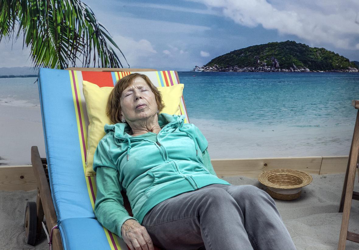 Fotopláž v Průhonicích má léčit nejen Alzheimera
