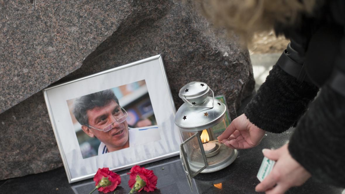 Památka na Borise Němcova