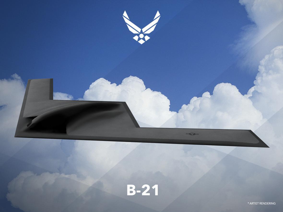 Studie bombardéru B-21