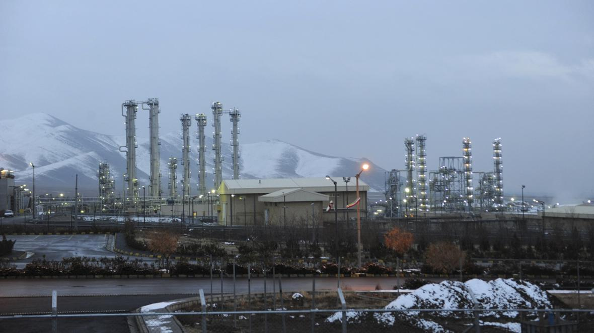 Íránské jaderné zařízení v Aráku